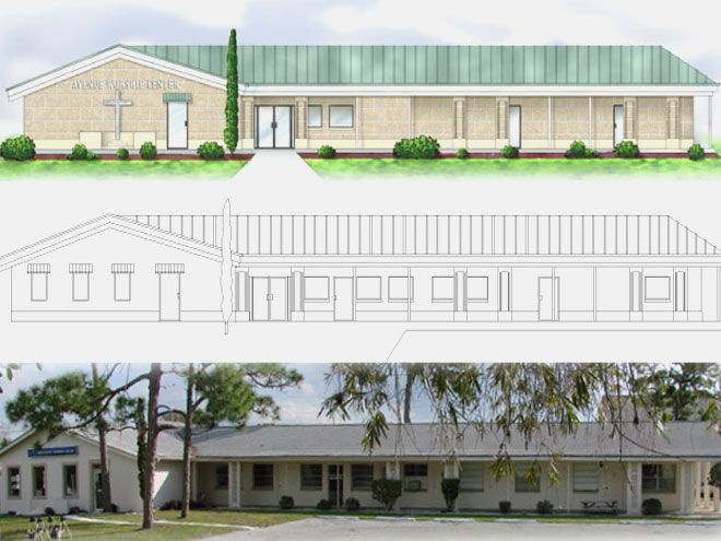 517 Architectural Design Tampa Bay Florida - East Coast Christian Center
