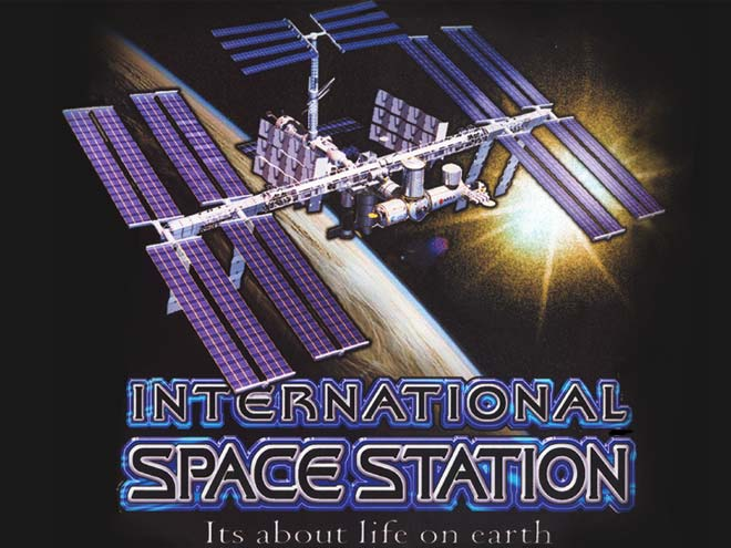 517 Graphics Tampa Fl - Poster design for NASA's International Space Station