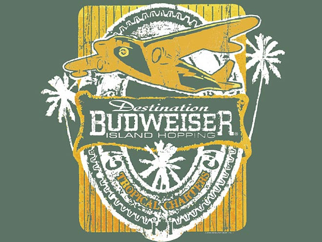 517 Graphics Tampa Fl - T-Shirt Graphic Budweiser beers