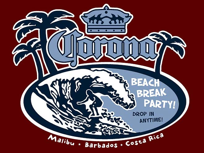 517 Graphics Tampa Fl - T-Shirt artwork for Corona Extra Beer